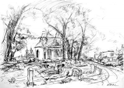 Friedhof der Frauenkirche in Meißen