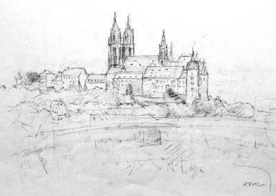 Burg und Dom zu Meißen