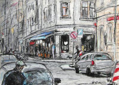 Louisen- Ecke Kamenzer Straße Dresden Neustadt