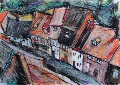 Dachlandschaft Quedlinburg